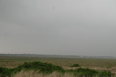 A rainy and windy day on Spiekeroog